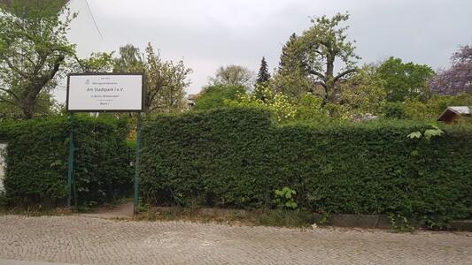 Rettet Block 1 der Kleingartenkolonie Am Stadtpark I in Berlin-Wilmersdorf