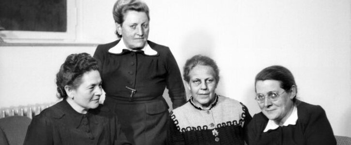 """Ein Denkmal für die """"Mütter des Grundgesetzes"""" in Berlin"""