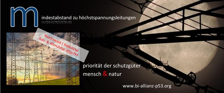 SCHUTZGUT Mensch & Natur fordern verbindliche Mindestabstände beim Stromleitungsausbau in Bayern