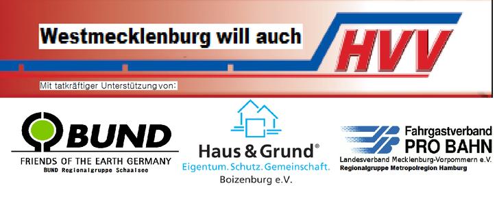Hamburger Verkehrsverbund für Westmecklenburg!