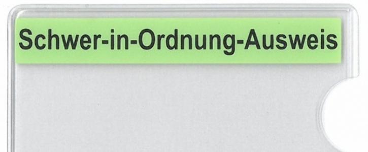 """""""Schwer-in-Ordnung-Ausweis""""-Hülle auch für Bremen"""
