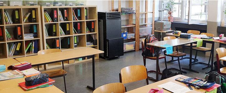 Mobile Luftreinigungsfilter für alle Schulen in Deutschland