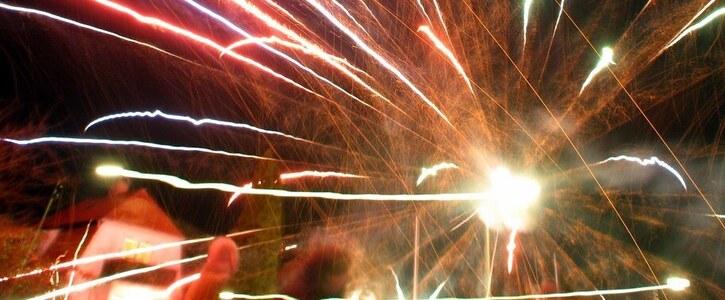 Verbot des Silvester-Feuerwerks