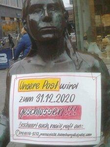 Schließung  der Postfiliale Hamburg Hoheluft verhindern!