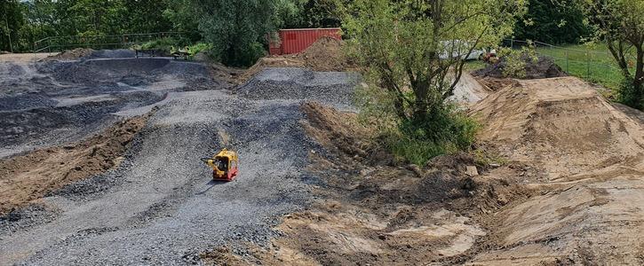 Pumptrack und Dirtpark für Witten