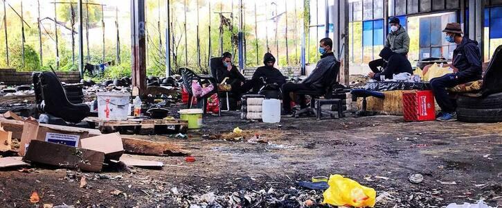 Humanitäre Katastrophe an Kroatisch-Bosnischer Grenze verhindern!
