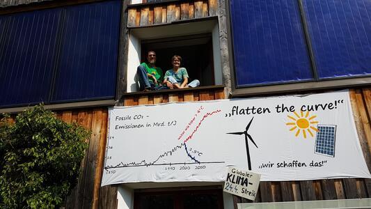 Weilheim sagt's dem Bundestag: Wir wollen mehr Klimaschutz!