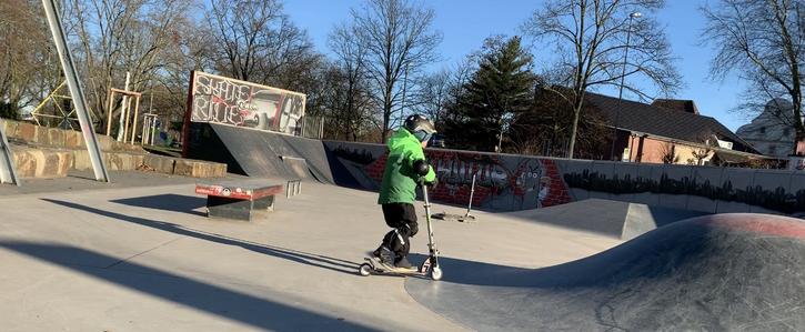 Skatepark für Kinder in Düsseldorf Vennhausen