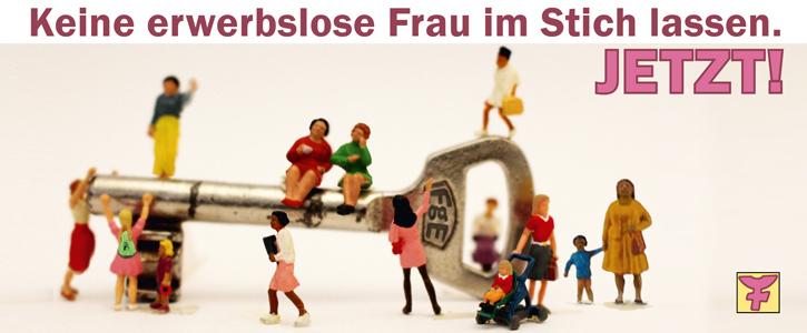 Erwerbslose Frauen in Köln brauchen Unterstützung – JETZT!