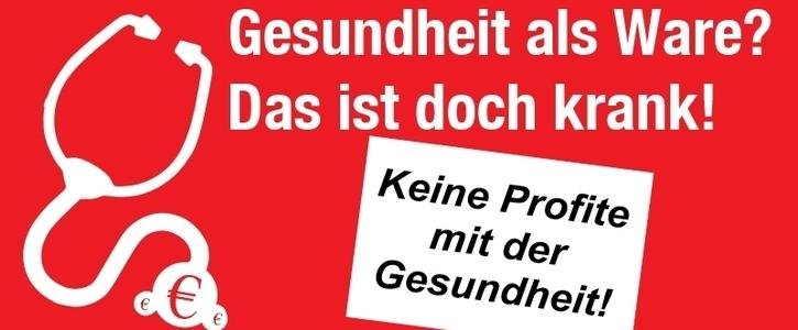 Nein zur Schließung des Krankenhauses in Dudweiler/Saar
