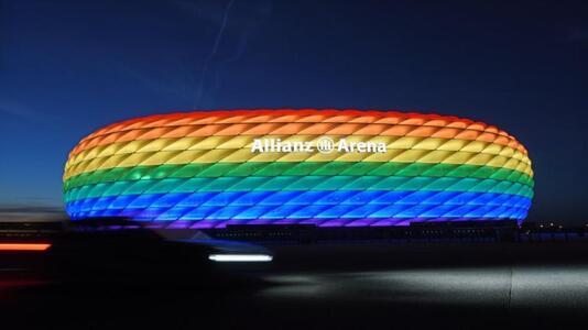 Regenbogenfarben für alle sportlichen Großveranstaltungen