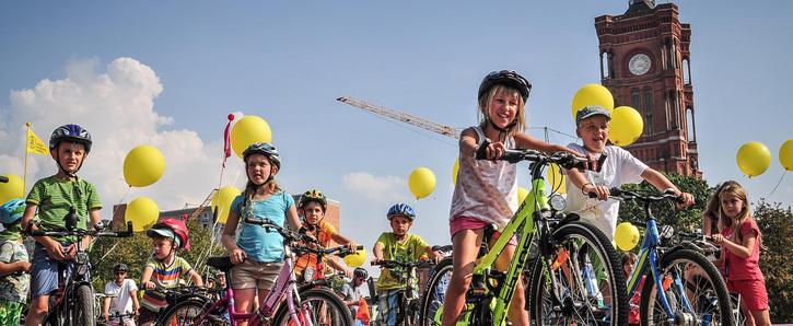 Für ein kinder- und fahrradfreundliches Berlin