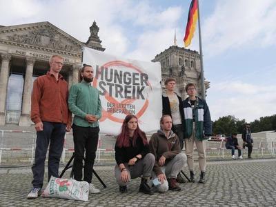 Hungerstreik der letzten Generation
