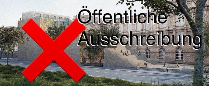 Öffentliche Ausschreibung des Anbauvorhabens der Kunstakademie Düsseldorf