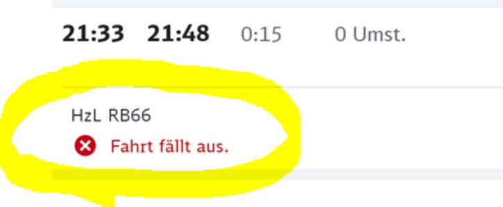 Deutsche Bahn (HZL) - Verlässlichkeit & Kundenrechte