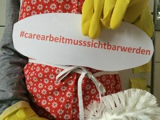 Care-Arbeit ist Arbeit  - Fürsorge-Gehalt jetzt!