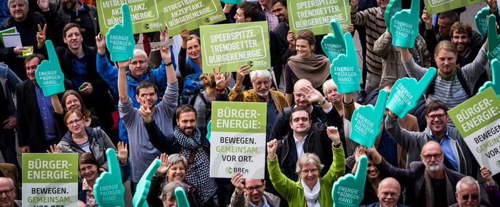 Bürgerenergie für alle - Deutschland muss Blockadehaltung in der EU endlich aufgeben!