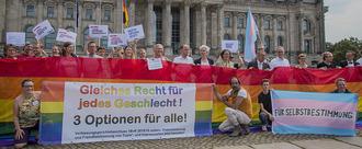 Gleiches Recht für jedes Geschlecht! – Stoppt Seehofers Gesetzentwurf zur dritten Option!