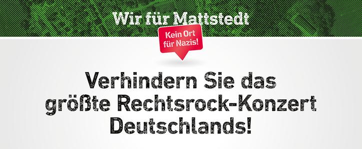 Verhindern Sie das größte Rechtsrock-Konzert Deutschlands!