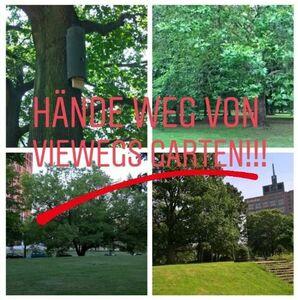 Hände weg von Viewegs Garten - jetzt erst recht!