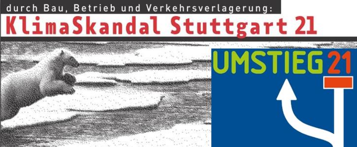 #RettetdasKlima: Umsteuern bei Stuttgart 21 jetzt!